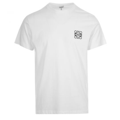 Loewe Embroidered Logo T-Shirt