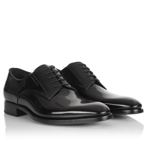 Givenchy Patent Lace Up Derby Shoes