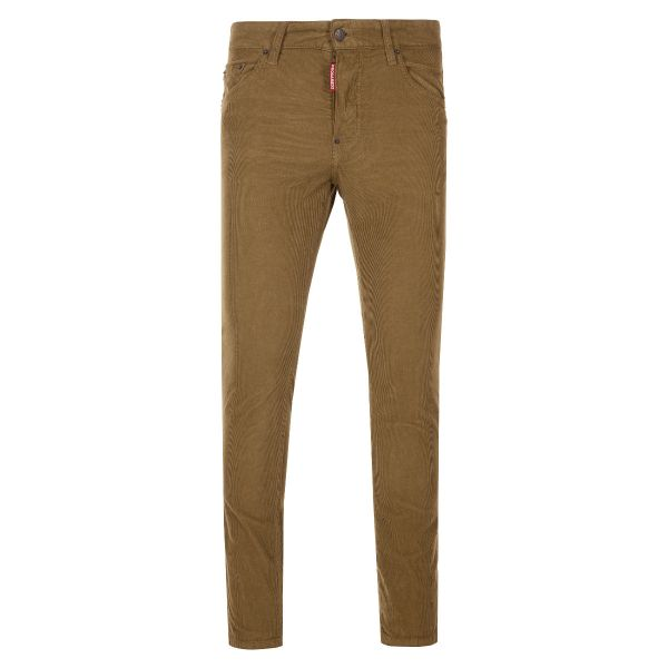 DSquared2 Logo Tag Corduroy Trousers