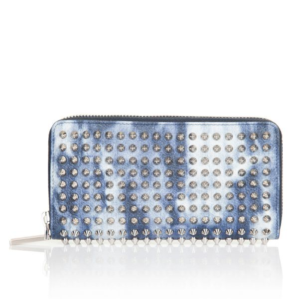 Christian Louboutin Spiked Tie Dye Panettone Wallet