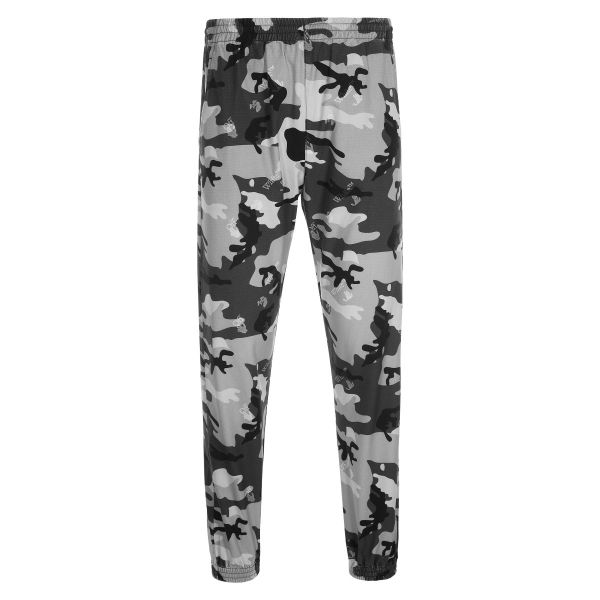 Off White Camouflage Print Trousers