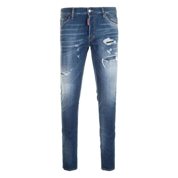 DSquared2 Ripped/Distressed Cool Guy Jeans