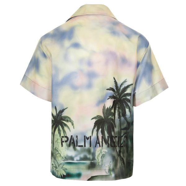 Palm Angels Paradise Heart Bowling Shirt