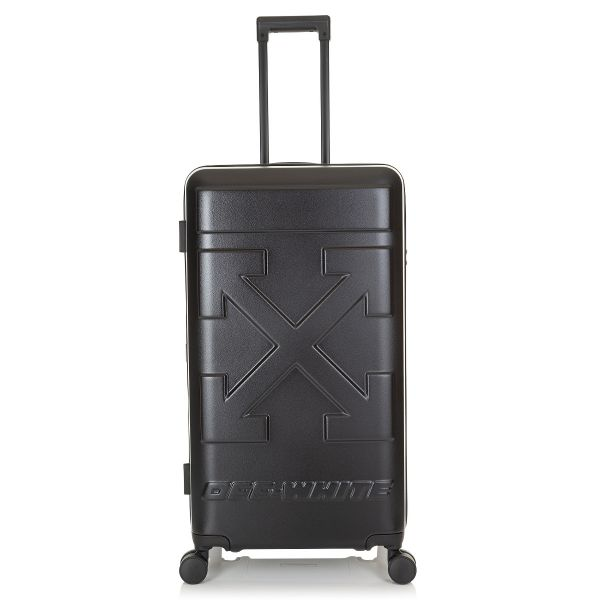 Off White Arrows Motif Suitcase