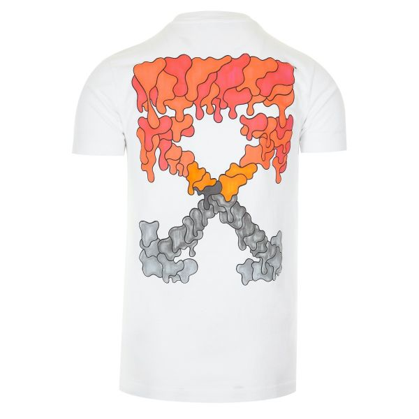 Off White Dripping Arrows Logo T-Shirt