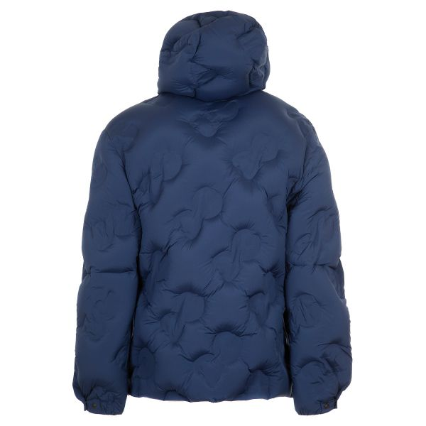 Dolce & Gabbana Hooded Quilted Nylon Jacket