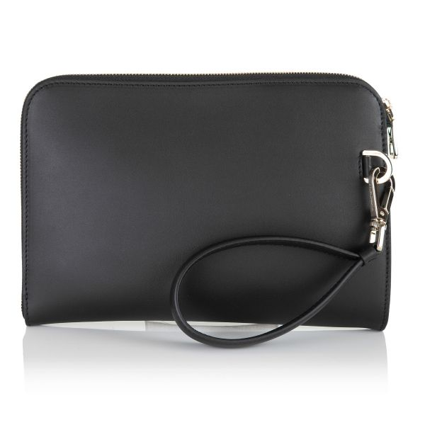 Dolce & Gabbana Stamped Logo Clutch Bag